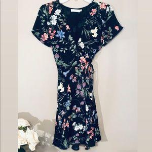 Lush Floral Mini Dress